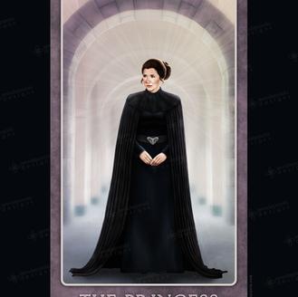A Little Dark Humor of Her Own - Senator Leia Organa