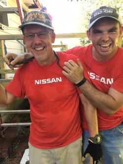 2 Nissan Guys Snake Fun