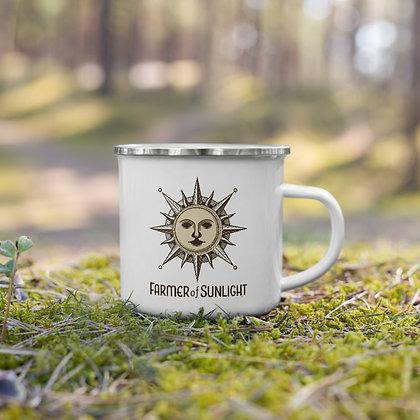 Farmer of Sunlight™️ Enamel Mug