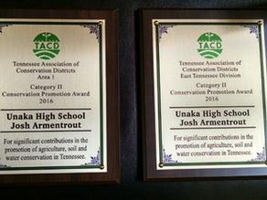 Josh Armentrout Wins TACD Award