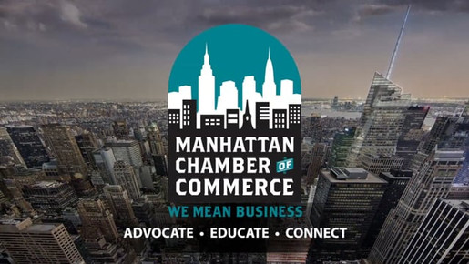 Commercial for Benefits of Joining the Manhattan Chamber of Commerce.