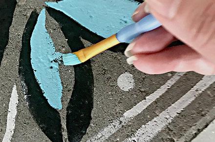 'Paint the Pathway' Sponsor a Painter