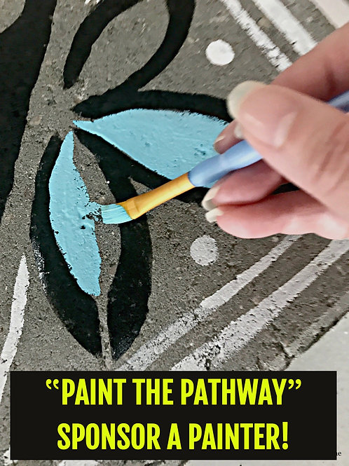 'Paint the Pathway' Sponsor a Painter