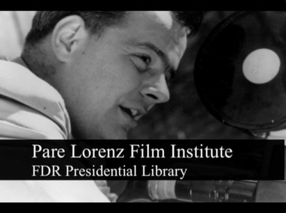 The Kiosk Video for the Pare Lorenz Film Institute at the FDR Presidential Library.