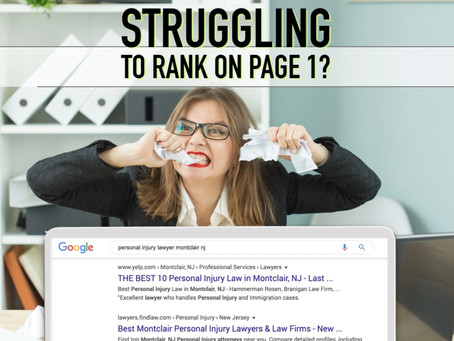 Google Page 1 Ranking - Without the Hassle