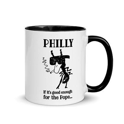 SmokinAnt™️ Philly Pope Mug