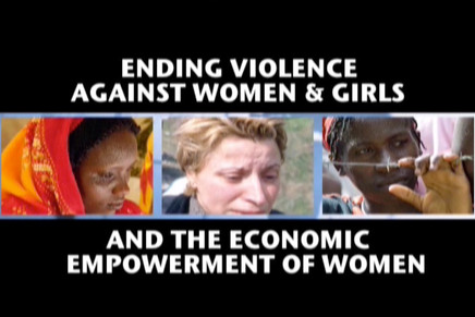 United Nations Ending Violence Against Women & Girls Global Conference  Highlights and interviews with Geena Davis, Ban Ki-moon, Sarah Ferguson (Duchess of York), Rashida Mango