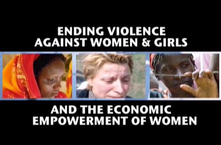 United Nations Ending Violence Against Women & Girls Global Conference  Highlights and interviews with Geena Davis, Ban Ki-moon, Sarah Ferguson (Duchess of York), Rashida Mango