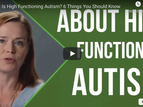 6 Things You Should Know About High Functioning Autism