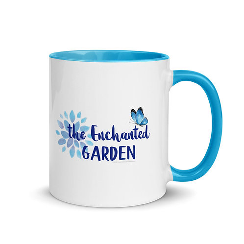 The Enchanted Garden Mug with Color Inside