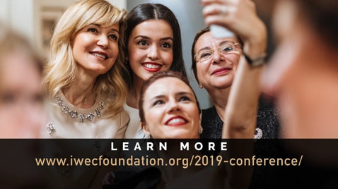 Commercial for the IWEC Foundation conference.