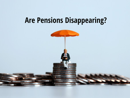Are Pensions Disappearing?