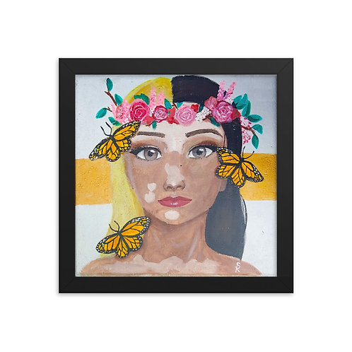 Shyann Rogers / The Enchanted Garden on Framed photo paper poster