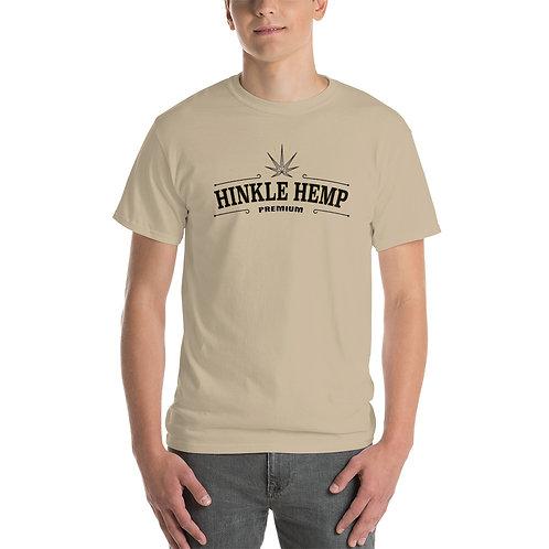 Hinkle Hemp Men's Heavier Weight Cotton Short Sleeve T-Shirt