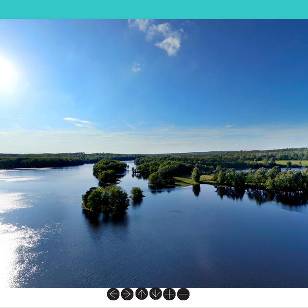 360-gradersbild sjö.