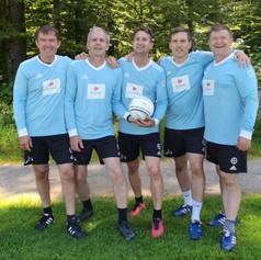 Das erfolgreiche Team Faustball im ETF A