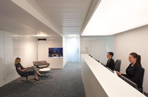 Bespoke Reception Interiors