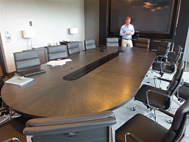 Bespoke Boardroom Interiors