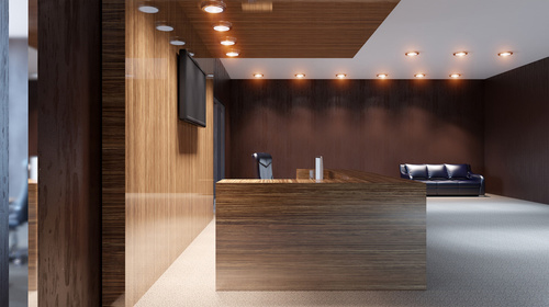 Bespoke Reception Interiors