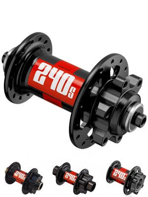 DT Swiss 240S Front IS 6-Bolt