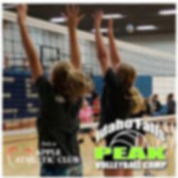 Youth Volleyball Camp in Idaho Falls