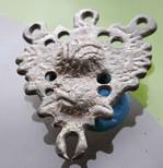 Byzantine era silver pendant