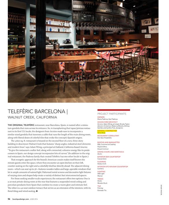 Teleferic (Diablo Magazine Article)