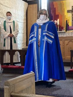 Bishop Marianne Gaarden visits September 2021