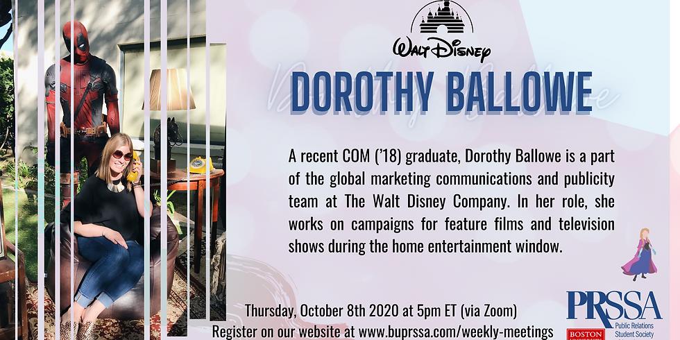 Weekly Meeting - Dorothy Ballowe