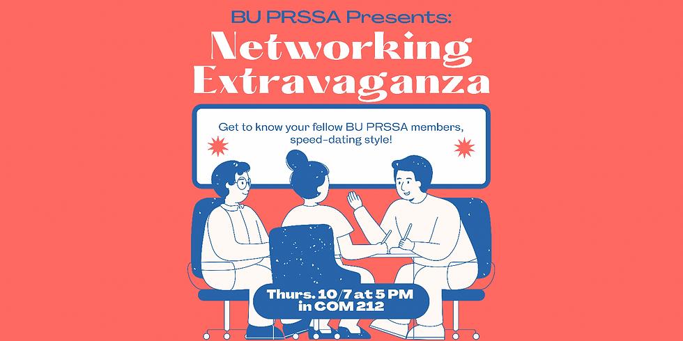 BU PRSSA Presents: Networking Extravaganza!