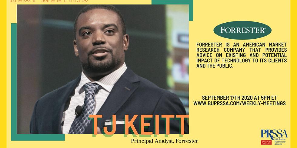 Speaker Series: TJ Keitt