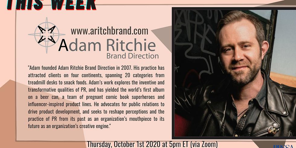 Weekly Meeting - Adam Ritchie