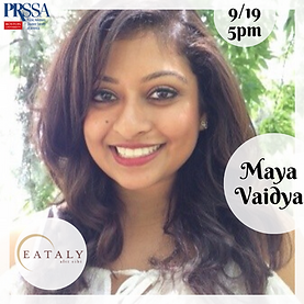 Maya Vaidya - Assistant Marketing Manage