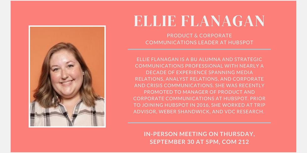 Weekly Speaker: Ellie Flanagan from HubSpot