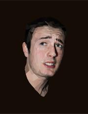 """William """"realistic"""" graphic portrait"""
