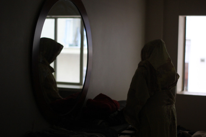 Afghan refugee, refugee camp, Athens- Greece