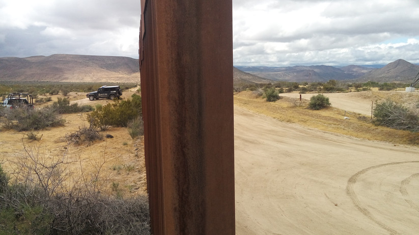 Border limit- USA/Mexico Border