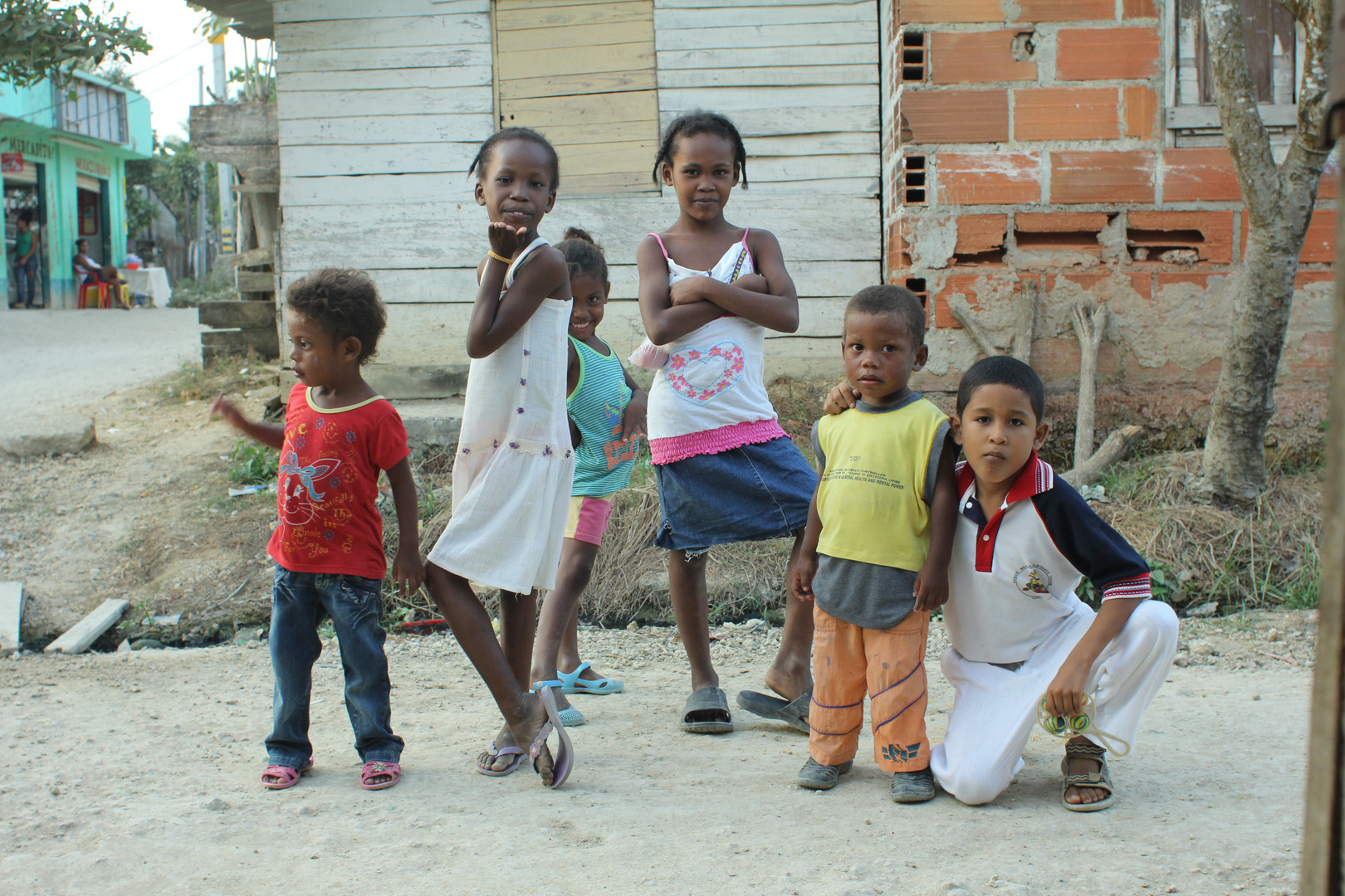 Displaced children in Colombia