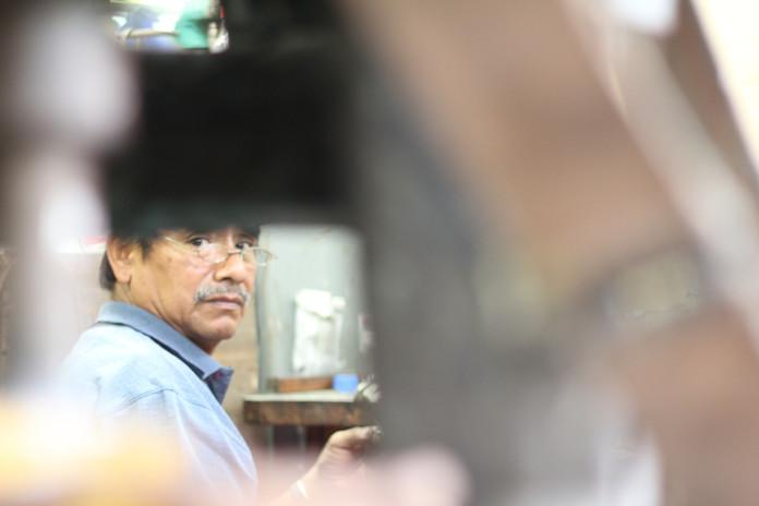 Deported worker in Tijuana