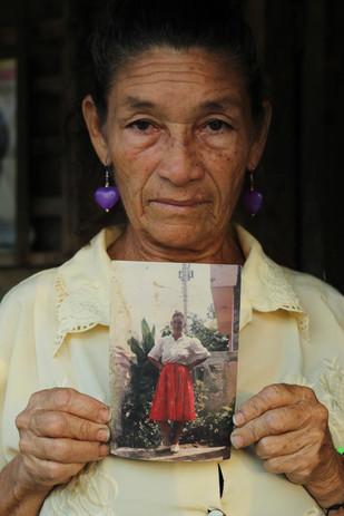 Columbian displaced woman