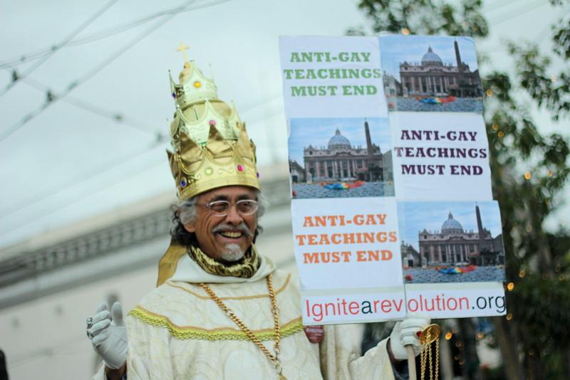 LGBTTQQIAAP Protestor, San Francisco, USA