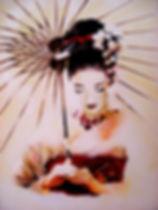 Acrylic Paint on Canvas.