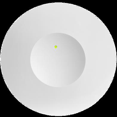Single Sensor Front Green LED Transparent BK.png