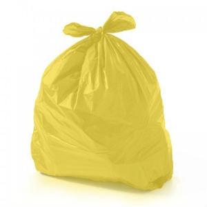 Saco para lixo Amarelo