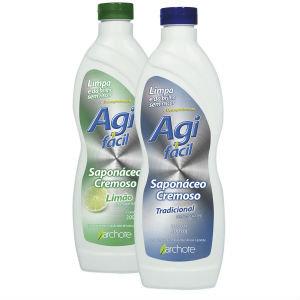 Saponáceo Cremoso 300 ml Agi Fácil