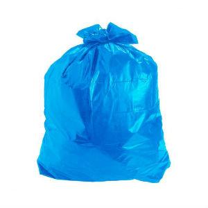 Saco para lixo Azul