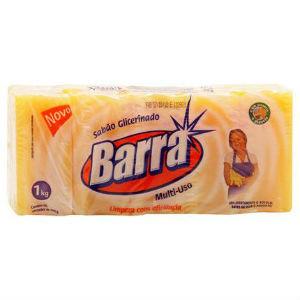 Sabão em barra 5 x 200 grs - Barra