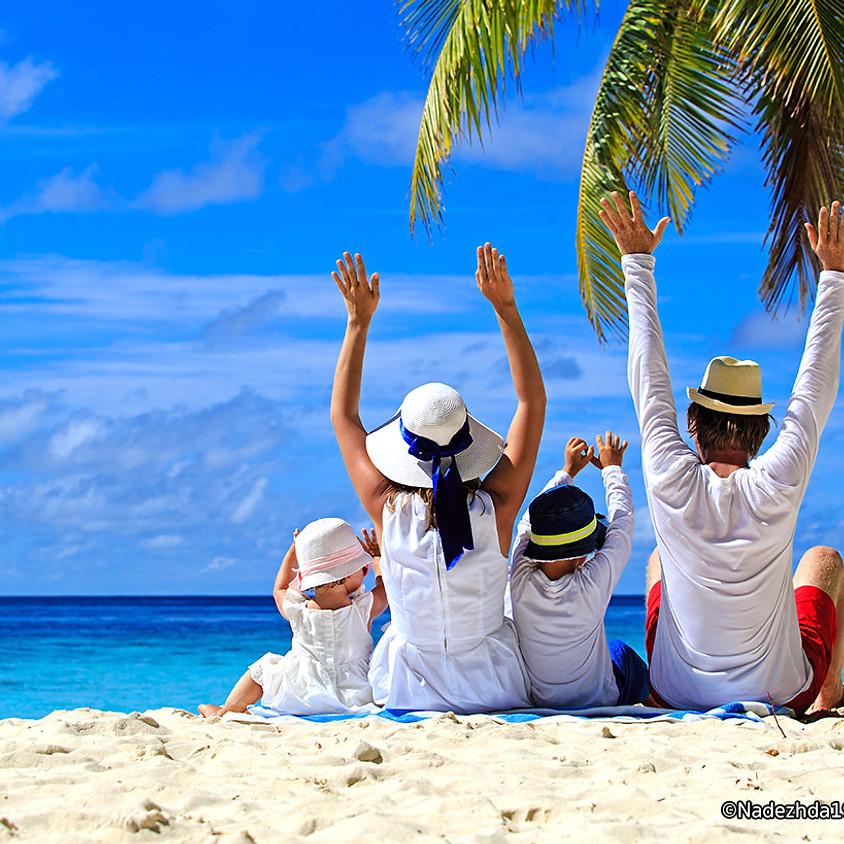 Living Faith Family Beach Day!
