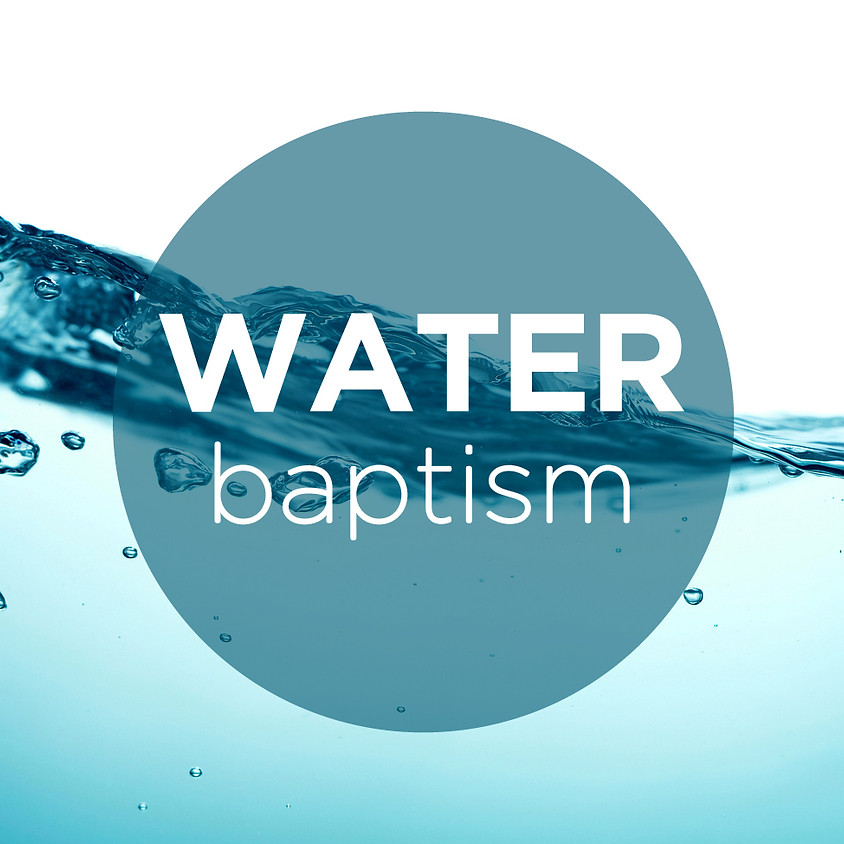 Water Baptism Live on Facebook and Zoom