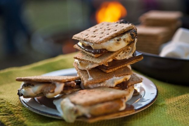 Gourmet Grilled S'Mores